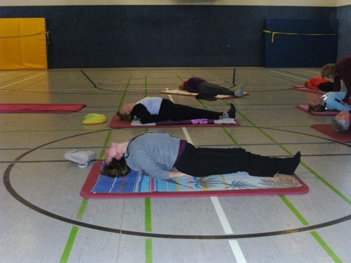 Yoga mit der SG-Huttengrund